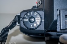 Minolta Dynax 60 SLR - Function switch