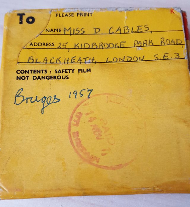 8mm Home Movies - Bruges 1957