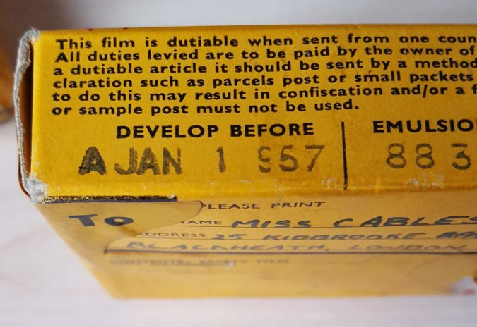 8mm Home Movies - Develop before 1957