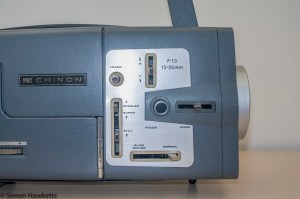 Chinon C300 Std 8 & Super 8 projector - Controls