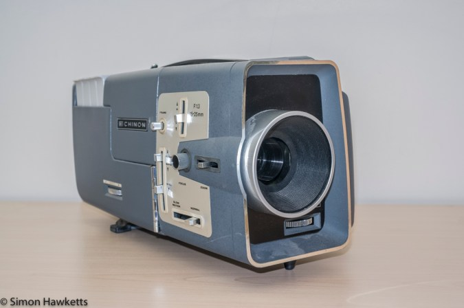 Chinon C-300 Std 8 & Super 8 projector - Front view