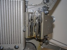 Specto 500 8mm cine projector - The film gate