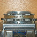 Agfa Flexilette 35mm TLR - Aperture and shutter speed