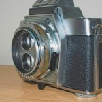 Agfa Flexilette 35mm TLR - Side view