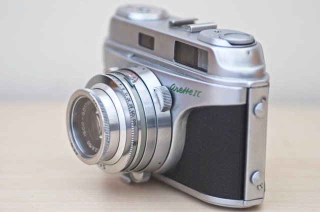 The beautiful Arette 1C rangefinder from the 1950s 2