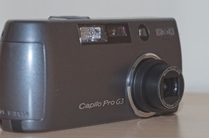 The Ricoh Caplio Pro G3 compact digital camera