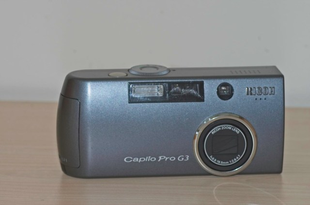 The intriguing Ricoh Caplio Pro G3 digital camera 1