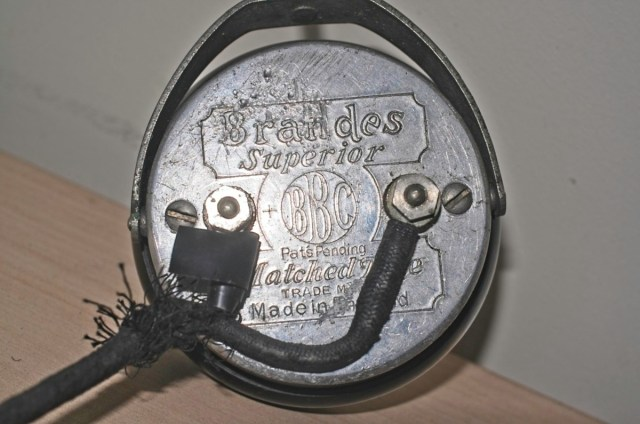 Brandes 'superior' BBC headphones from c 1945 2