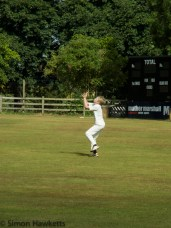 Ricoh GXR and P10 sample pictures - Catching a high catch at cricket