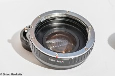Camdiox Sony Nex to Eos Focal reducer