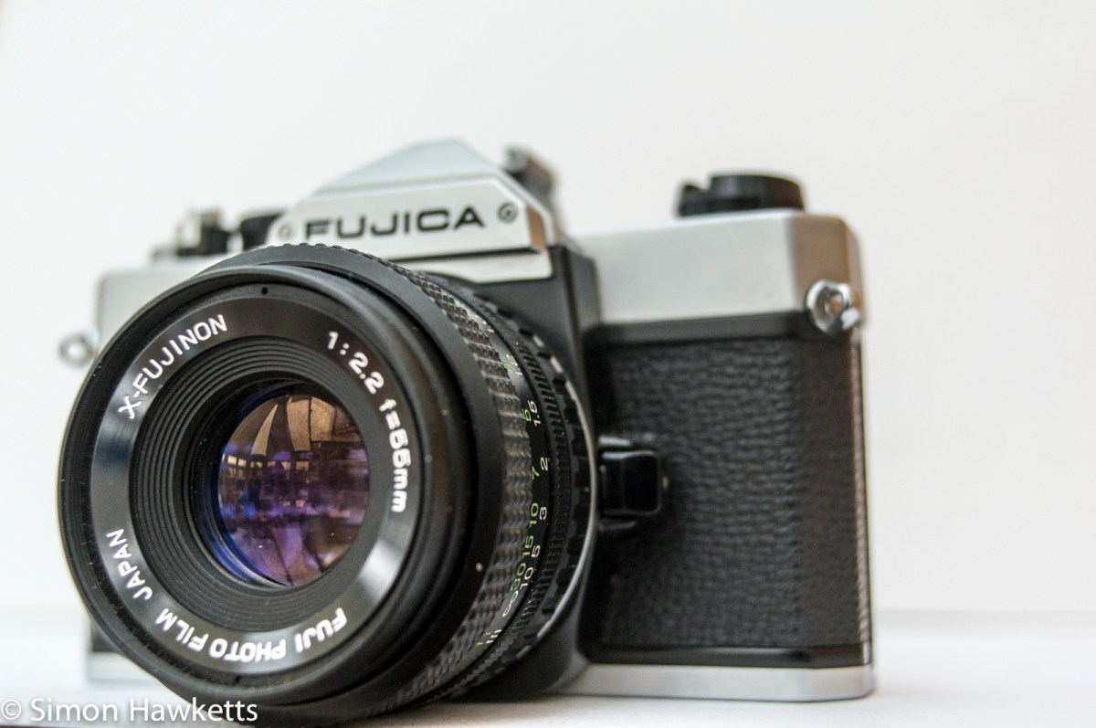Fujica STX-1 35mm slr camera