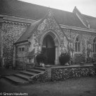 Voigtlander bessa 66 sample picture - The church entrance in Teverham near Norwich