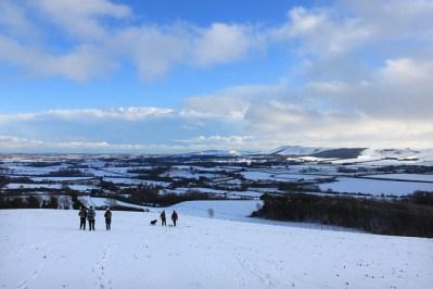 Glynde snow