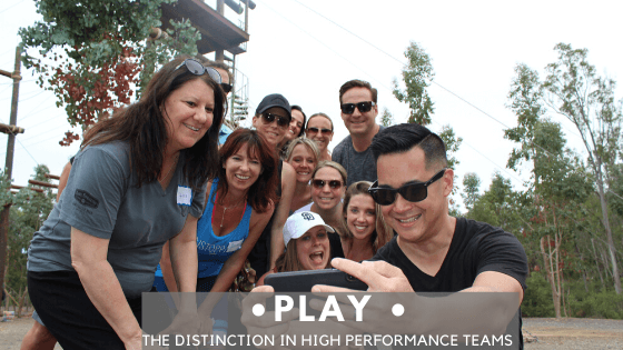 lay the distinction in high performance teams Team building San Diego Blog Photo