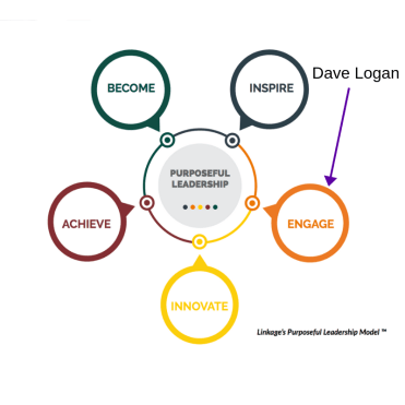 Purposeful Leadership Model- Dave Logan Engage