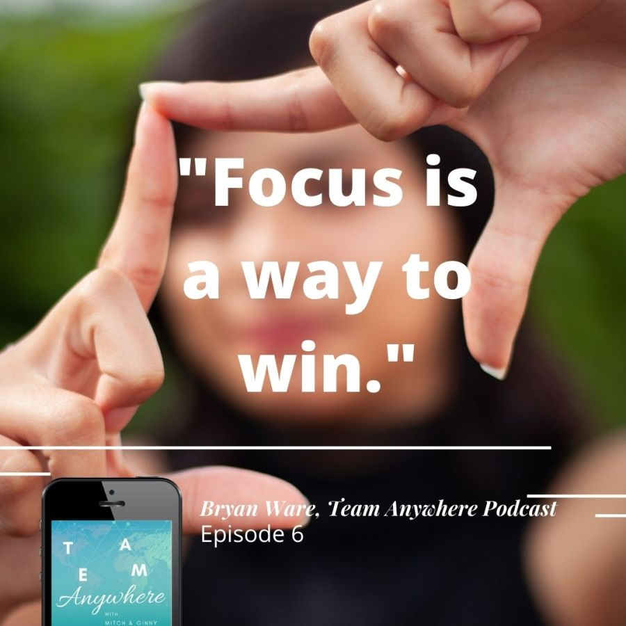 """"""" focus is a way to win"""" how-to-create-intentional-meetings-online-meetings-virtual-meetings-team-anywhere-leadership-podcast-44"""