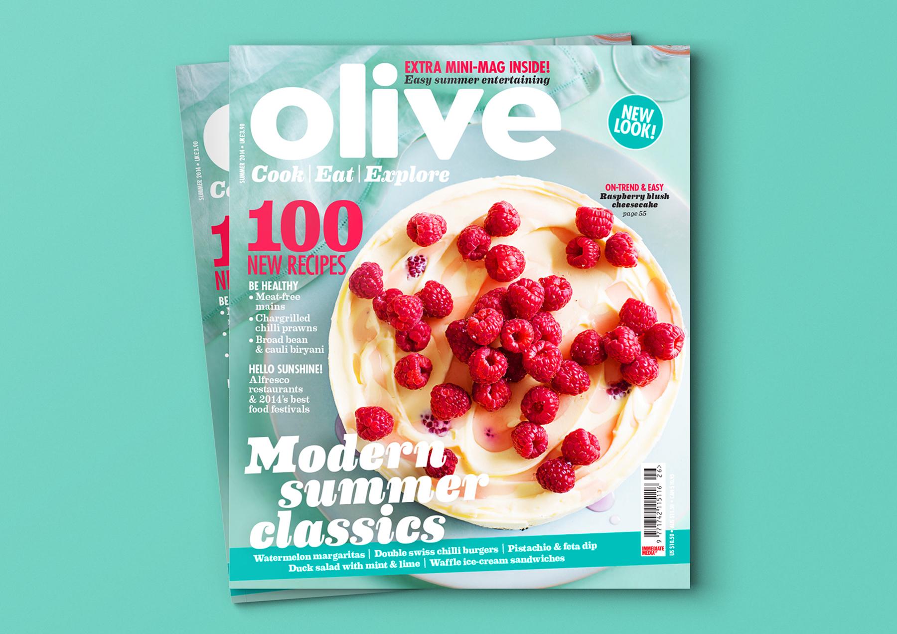 Olive | Magazine redesign