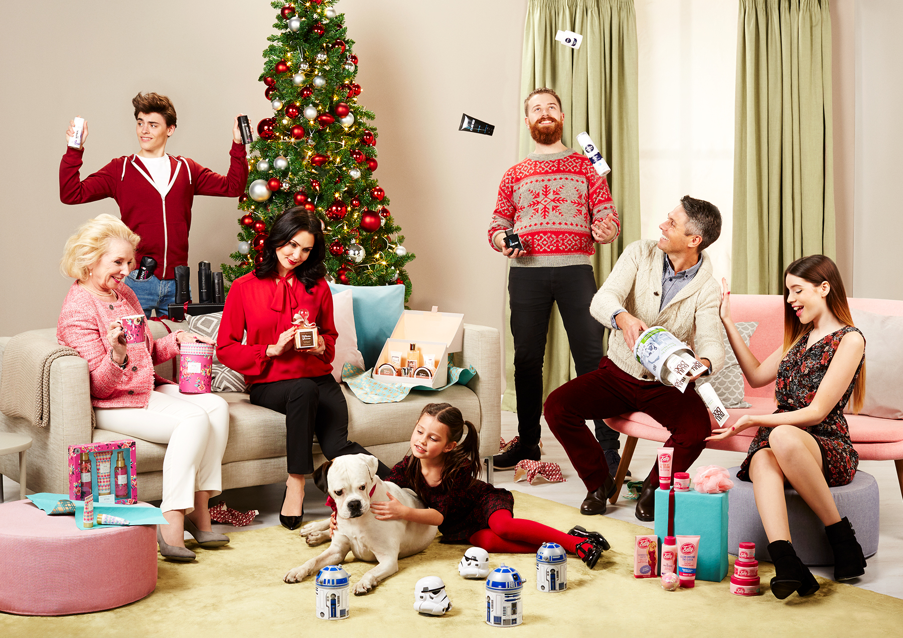 Tesco | Christmas Beauty Ad Campaign