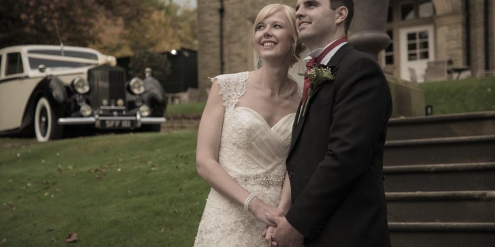 Adrian and Elizabeth at Woodlands Hotel, Leeds 8