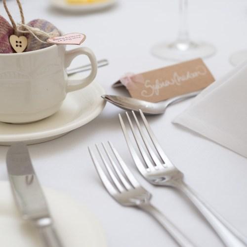 Wedding table setting 2
