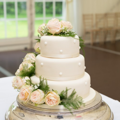 Elegant wedding cake 10