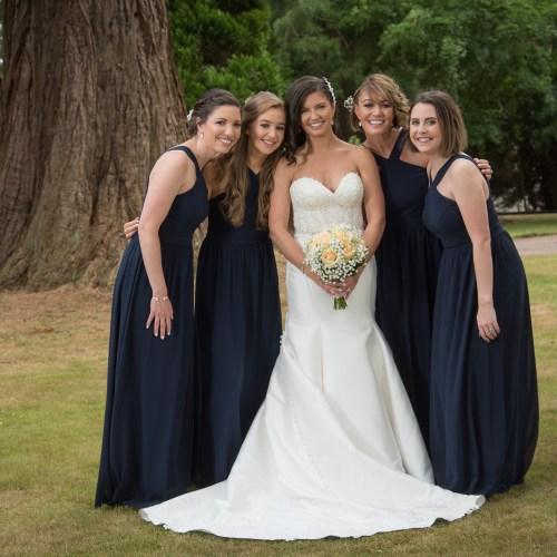 Bride and her Bridesmaids, Perth, Scotland