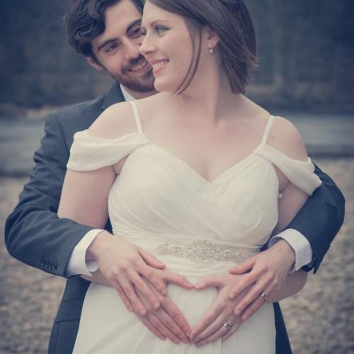 Heart shape bride