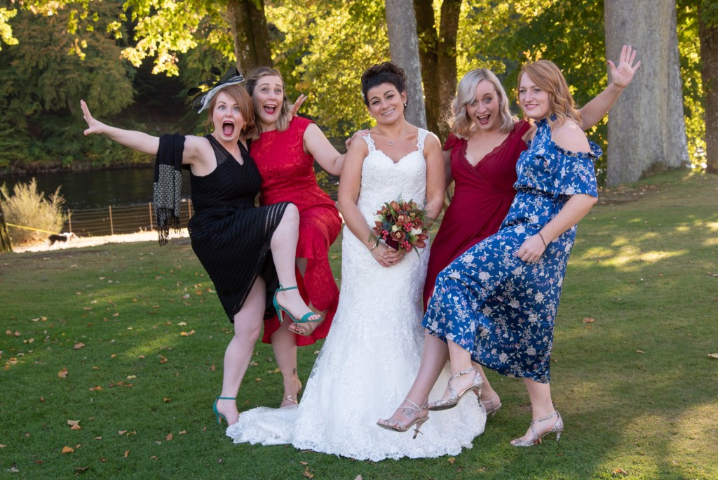 Fun, party groups, wedding dunkeld, scotland