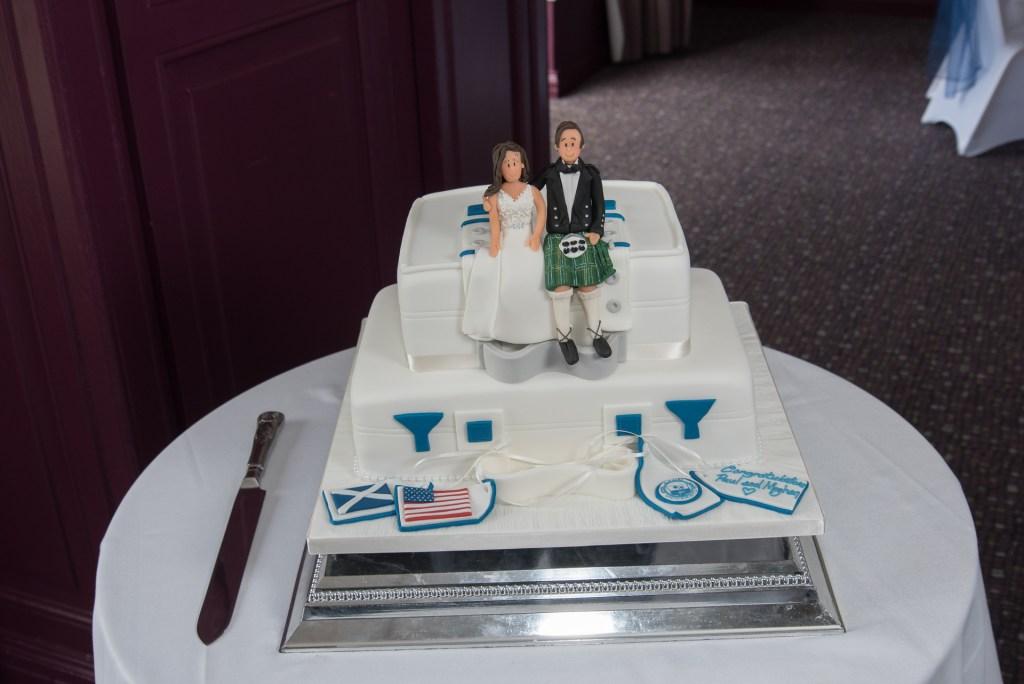 Elegant wedding cake 10
