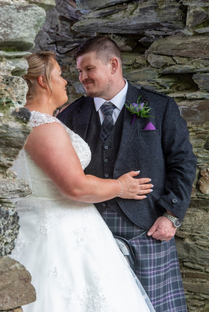 Greig and Pauline at Dunkeld House Hotel 2