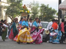 Colours On The Streets of Oaxaca 1