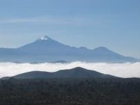 Pico de Orizaba - First glimpse