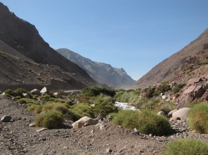 Into The Andean Valley