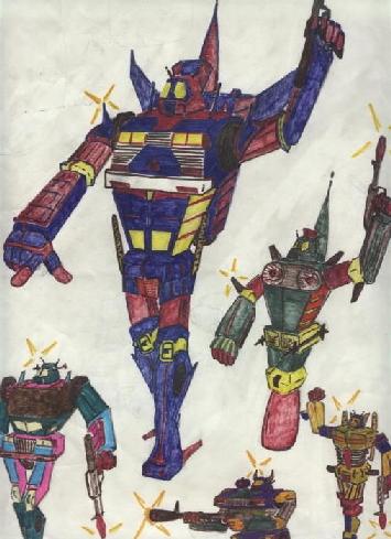 Transformers, my design