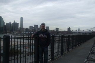 View of Manhattan from Brooklyn, US