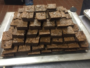 Simons catering famous brownies