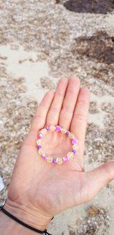 Plastic children's bracelet