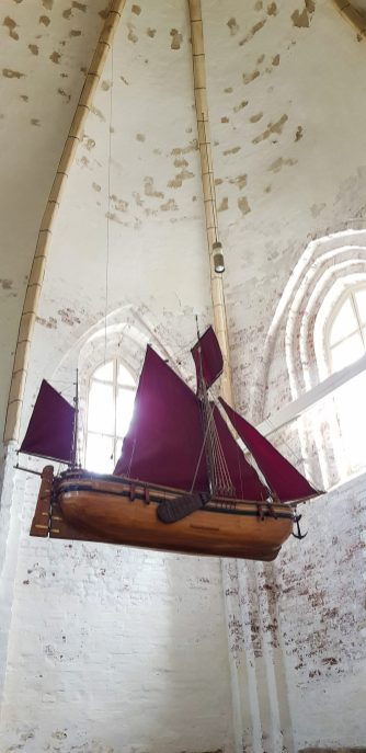 Ship in the church, because, why not?