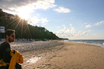 Walking the shore