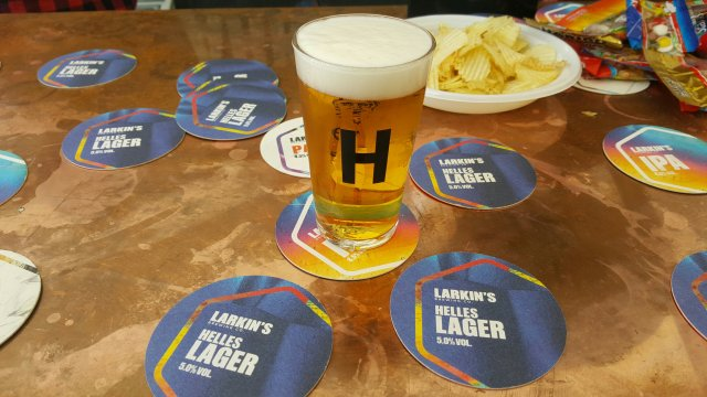 Helles Lager, Irish craft beer