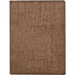 Tim Holtz DISTRICT MARKET Burlap Panel BARE 6 x 8 TH93062