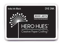 Hero Arts Dye Ink Pad INDIA INK Black af248