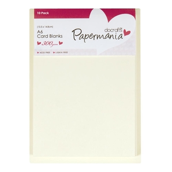 DoCrafts CREAM A6 Cards & Envelopes 150101