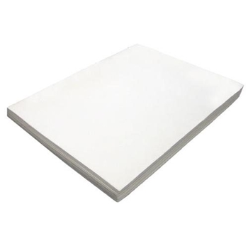 WHITE FUN FOAM 12 Pack 118711 9 x 12