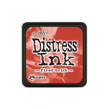 Tim Holtz Distress Mini Ink Pad FIRED BRICK Ranger TDP39976
