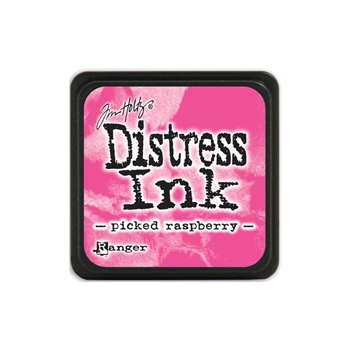 Tim Holtz Distress Mini Ink Pad PICKED RASPBERRY Ranger TDP40088