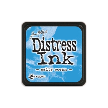 Tim Holtz Distress Mini Ink Pad SALTY OCEAN Ranger TDP40132