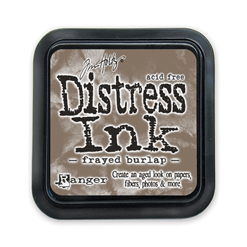 Tim Holtz Distress Ink Pad FRAYED BURLAP Ranger TIM21469