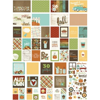 Simple Stories PUMPKIN SPICE Snap Cards 4623