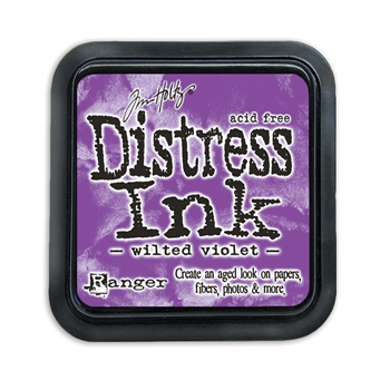 Tim Holtz Distress Ink Pad WILTED VIOLET Ranger TIM43263
